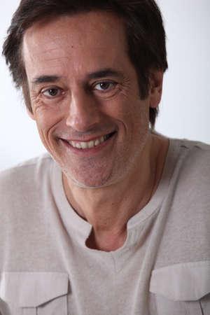 45 55 years: Man smiling