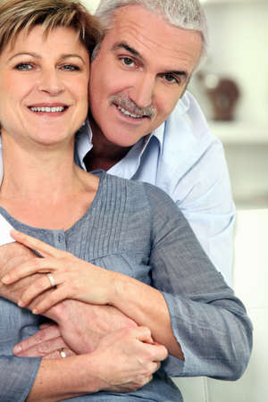 Portrait of mature couple photo