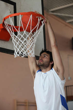 basketball net: Slam dunk