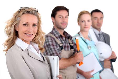 profesiones: Mujer de negocios