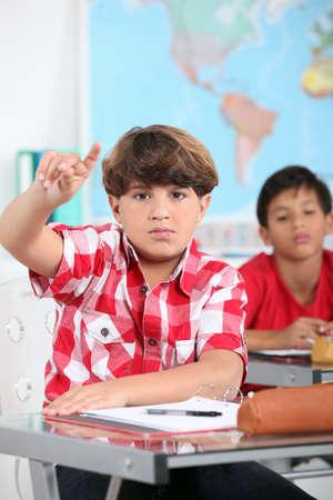 portrait of a pupil Stock Photo - 12499978
