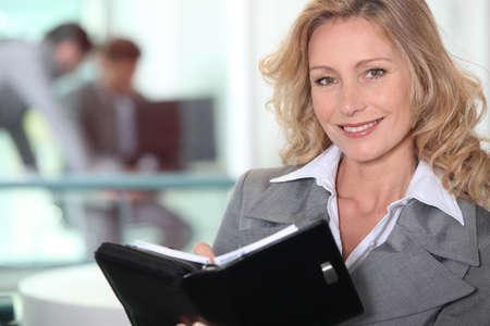 representing: Mature businesswoman confident