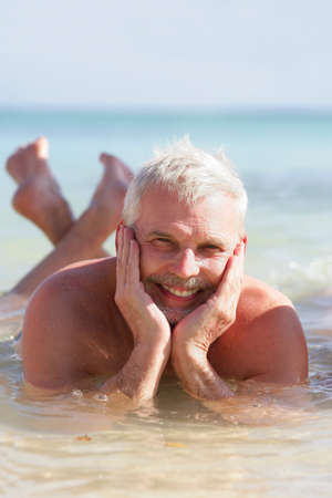 senior man on a summer vacation Stock Photo - 12529936