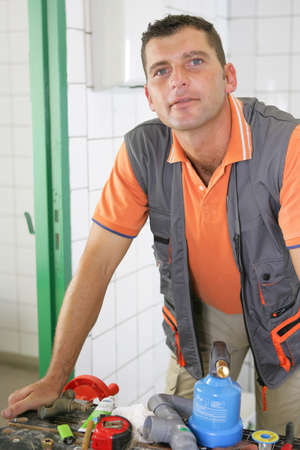 An experienced tradesman photo