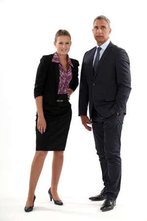Businessman and businesswoman Stock Photo - 13343875
