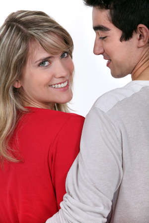 Couple hugging Stock Photo - 13344085