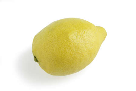 Single lemon Stock Photo - 13377096