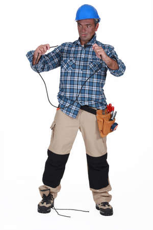 unintelligent: Unintelligent electrician