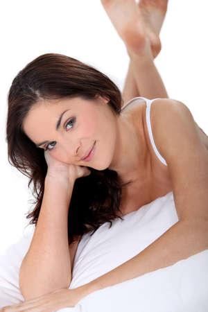 Portrait of a sensual woman Stock Photo - 13380074
