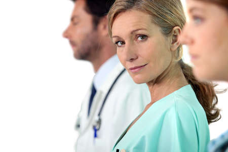 serious doctor: A fleeting glance