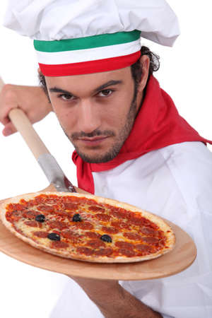 Pizza chef photo