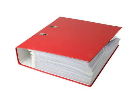 disorganization: Red binder