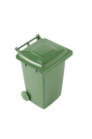 Green bin Stock Photo - 13448159