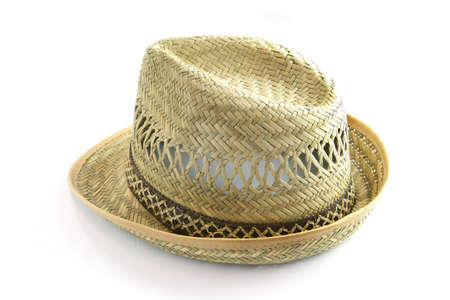 groundskeeper: Straw hat Stock Photo