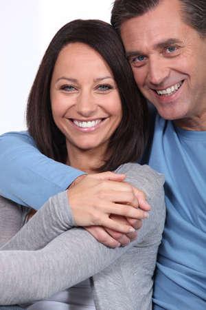 verlobt: Glücklich verheiratetes Paar Lizenzfreie Bilder