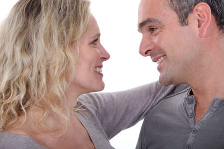 mature couple embracing Stock Photo - 13459157