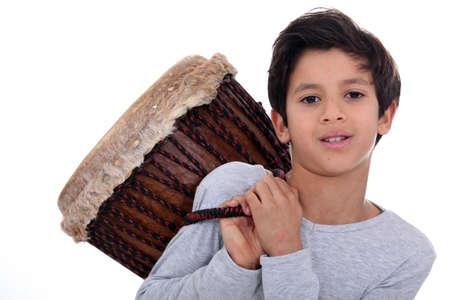bongo: Boy with a bongo