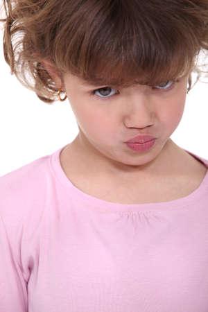 blubber: Grumpy little girl