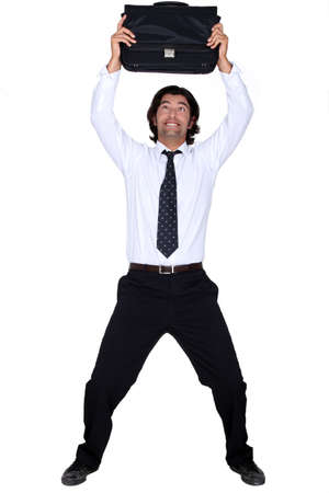 Happy man Stock Photo - 13461513