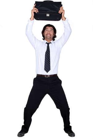 long sleeve: Happy man