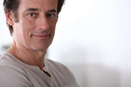 Man with neutral expression  Stock Photo - 13457756