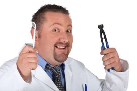 A dentist with his tools Stock Photo - 13457759