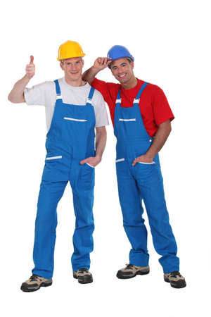 Two handyman Stock Photo - 13541523