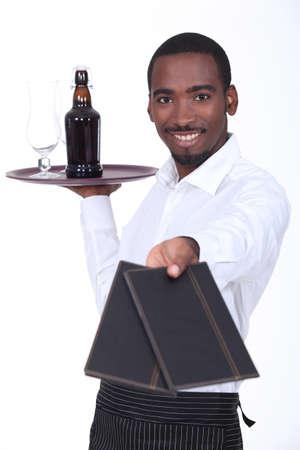 Waiter Stock Photo - 13561087