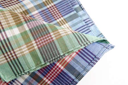 tartan table cloth photo