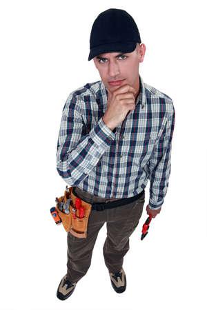 inconclusive: A perplexed handyman