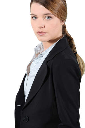 Young businesswoman Stock Photo - 13582715