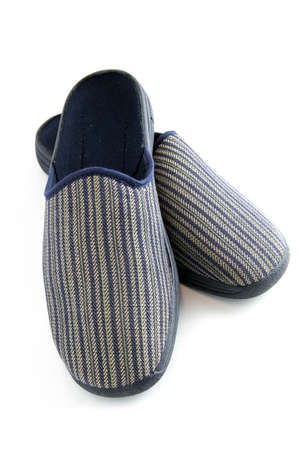 coziness: Pair of male slippers