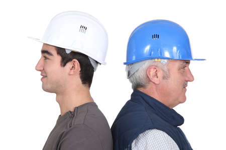 tradespeople: Old vs  young