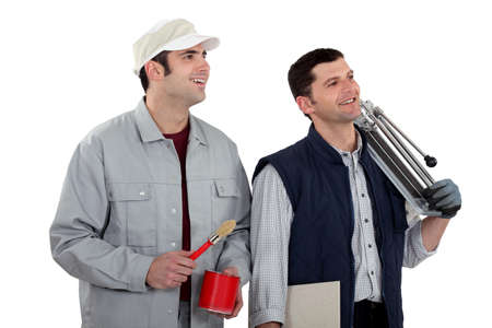 Decorator and tiler Stock Photo - 13622048