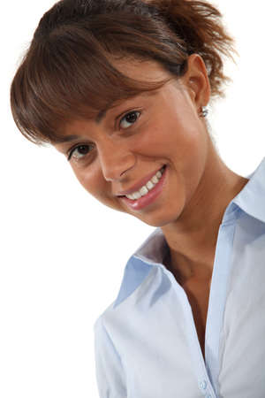 Portrait of a smiling woman Stock Photo - 13622006