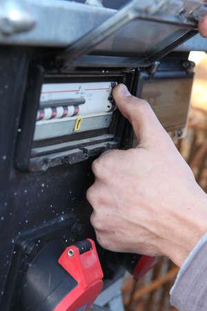 contador eléctrico Foto de archivo - 13622096