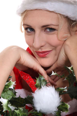 mrs: Mrs Claus Stock Photo