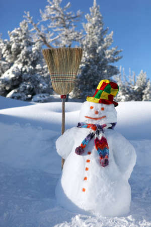 frosty the snowman: Snowman Stock Photo