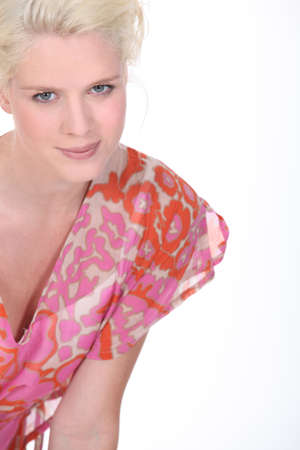 Attractive blond model Stock Photo - 13713449