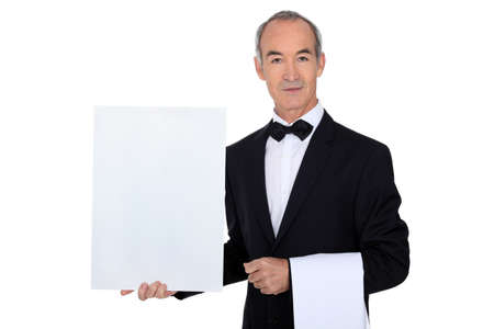 Restaurant Manager Stock Photo - 13713720