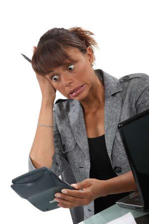 devastated: A horrified accountant