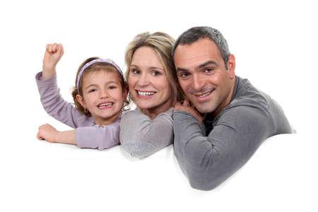 boastful: Portrait of a happy family