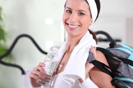 Healthy woman in sportswear Stock Photo - 13712356