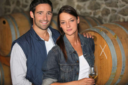 parenteral: Couple of winemakers