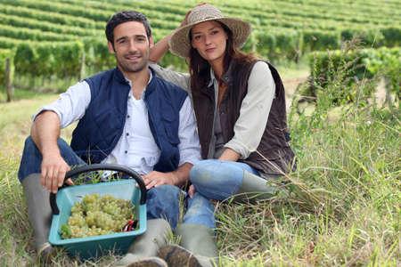 boas: Couple of winegrowers