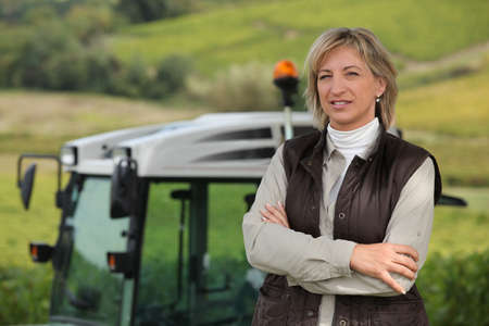 Female farmer photo