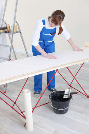 Woman laying wallpaper photo