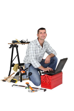 enthusiast: DIY enthusiast looking for tips on the internet