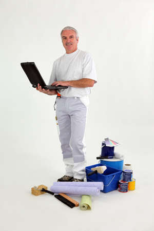 Painter-decorator photo