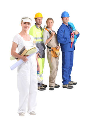 Manual workers photo